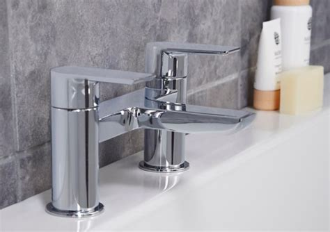 bath and shower taps bathroom taps basin bath taps diy at b q