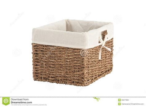 Handmade Laundry Basket - handmade laundry basket royalty free stock photo image