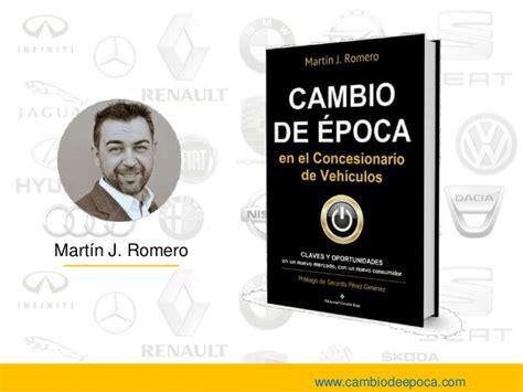 libro el cambio de libro cambio de epoca en el concesionario de vehiculos
