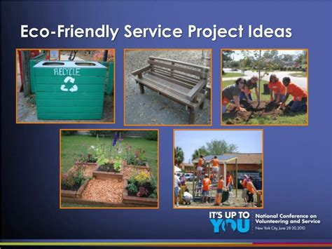 ppt now it s easy to be green how to infuse your environmental values into your employee