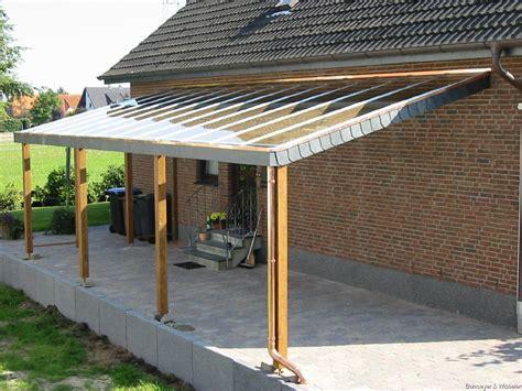 Carport Mit Glasdach by Carport Glasdach Modernes Haus
