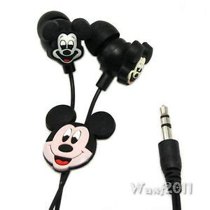 Mickey Headset disney mickey mouse headphones earphone earbuds