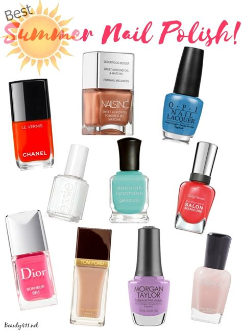the best summer nail polish shades for your skin tone best polish colors for toes joy studio design gallery