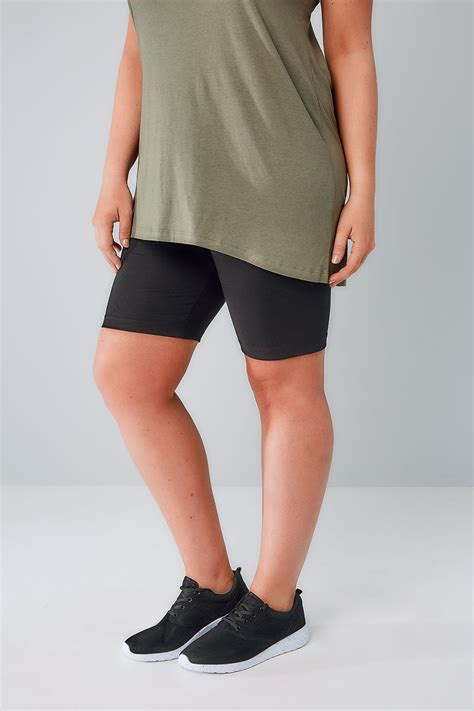 shorts for women 60 plus plus size womens cotton elastane legging shorts plus size