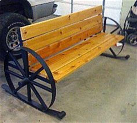 metal wagon wheel bench metal wagon wheel bench yard ideas pinterest wagon