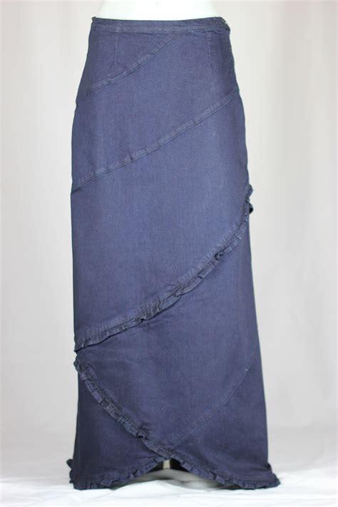sweet ruffles denim skirt sizes 6 18