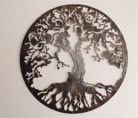 wire tree wall hanging home decor tree of life metal art 30 quot wall decor ebay