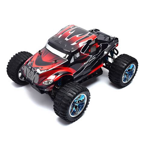 hsp nitro monster truck hsp rc car 1 10 scale 4wd brushless off road monster truck
