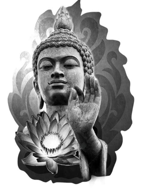 buddha lotus tattoo designs buddha and lotus flower design pinteres