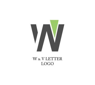 free logo alphabet design w v letter alphabet inspiration vector logo design