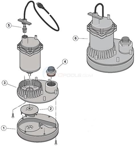 submersible parts diagram sta rite monsoon submersible parts inyopools