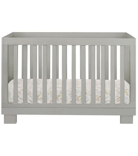 Babyletto Modo 3 In 1 Convertible Crib With Toddler Rail Babyletto Modo 3 In 1 Convertible Crib With Toddler Bed Conversion Kit In Grey Finish