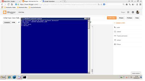 cara membuat website gratis dengan notepad contoh html lewat notepad contoh 0108