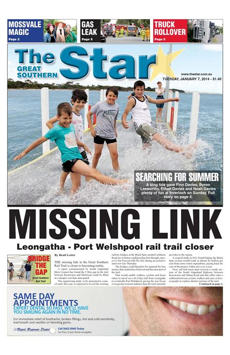 issuu the great southern star april 1 2014 by the the great southern star january 7 2014 by the great
