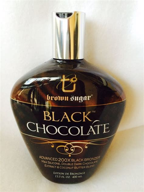tanning bed lotion reviews black chocolate 200x black bronzer tanning bed lotion brown sugar tan inc 787461329580