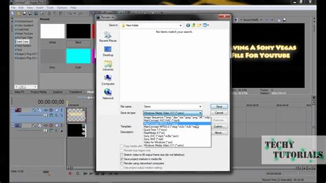 tutorial vegas pro 9 0 sony vegas pro 9 0 tutorial how to upload a video to