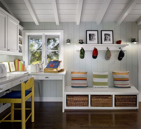 mudroom design 10 versatile mudrooms that double as home workspaces
