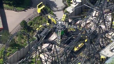 theme park crash alton towers crash merlin closes three more theme park