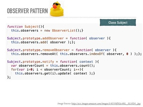 pattern design javascript observer pattern in javascript driverlayer search engine