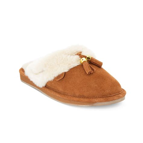 sperry slippers womens sperry top sider scuff slide slippers in brown