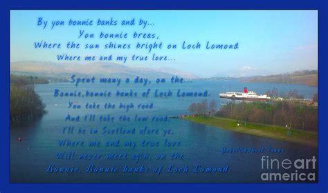 bonnie banks of loch lomond the bonnie banks of loch lomond photograph by joan violet