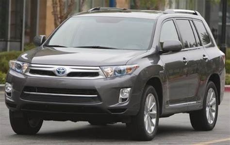 2012 Toyota Highlander Hybrid Used 2012 Toyota Highlander Hybrid Suv Pricing Features