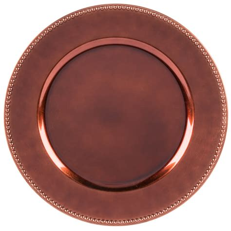what are charger plates for the companies 13 quot copper beaded melamine charger