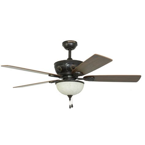 ceiling fans with lights at lowes shop harbor herndon 52 in aged bronze ceiling fan with light kit at lowes