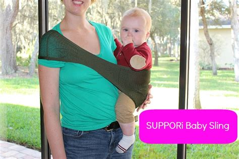 suppori baby sling review giveaway the report