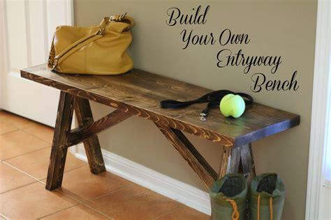 diy project build   entryway bench entryway