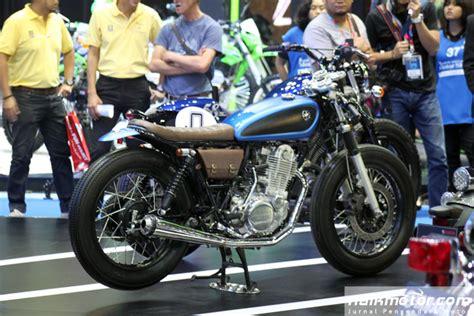 Pentil Bengkok Untuk Modifikasi Motor parade motor modifikasi pabrikan di bangkok motor show 2016