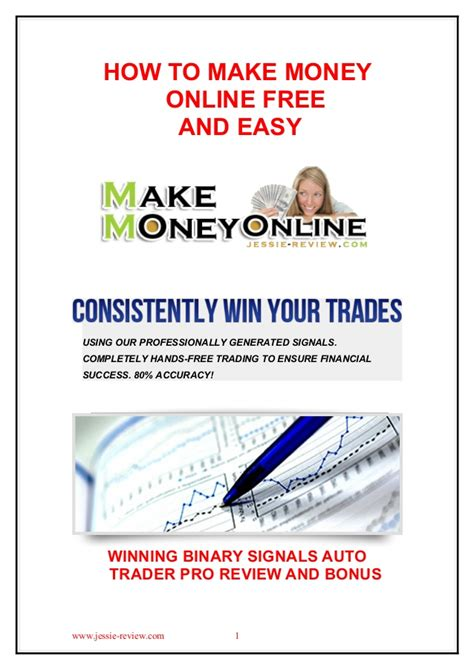 Make Money Online Free - how to make money online free and easy