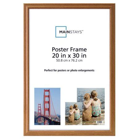 20x30 Picture Frame On Wall by Mainstays 20x30 Poster Frame Walmart