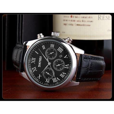 Jam Tangan Wanita Skmei Casual Murah Chrono Aktif Original skmei jam tangan analog pria 9078 black
