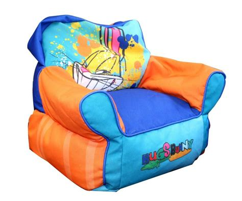 cool bean bag chairs looney tunes bugs bunny bean bag chair cool bean bag