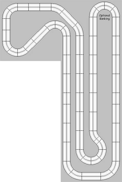 ho slot car layout design software 100 best images about slot car s and tracks on pinterest