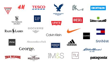 clothes brand clothing brands
