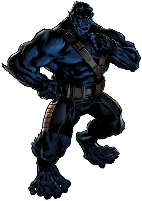Beast 5 11 Black List Blue image beast portrait png marvel alliance