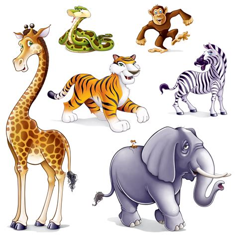 safari animals clip safari animal clip cliparts co