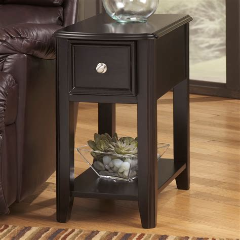 signature design  ashley breegin chair side  table multiple finishes ebay