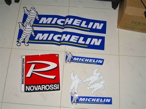 Sticker Michelin 10x4 Cm Novarossi And Michelin Stickers For Sale R C Tech Forums