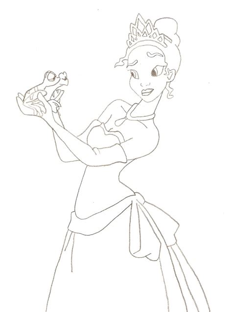 Princess And The Frog By Osireion87 On Deviantart Princess And The Frog Drawing