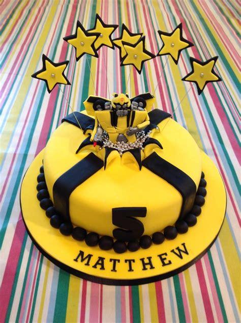 bumblebee transformer cake food cakes