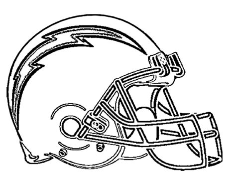 nfl coloring pages broncos san diego chargers logo clip art 71