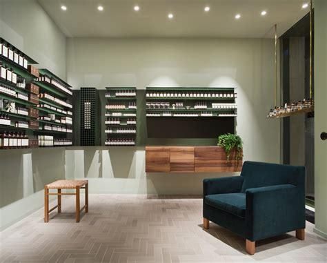 designboom office philipp mainzer develops interiors for aesop s frankfurt store