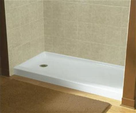 Pre Built Shower Pre Made Or Tile Shower Floors Which Is Right For Your