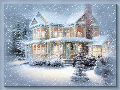 christmas images christmas scene animated wallpaper and