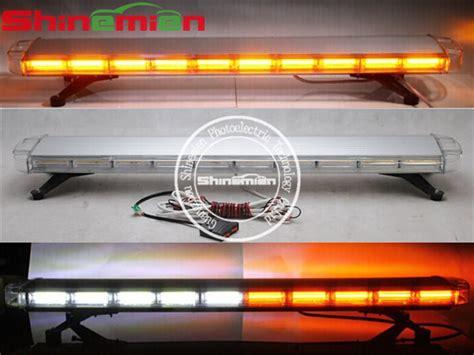 used emergency light bars amber white full size cob led 47 emergency vehicle led