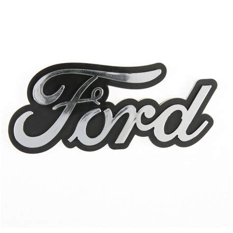 Fender Schriftzug Aufkleber by Original Ford Schriftzug Chrom Logo Usa Emblem Aufkleber