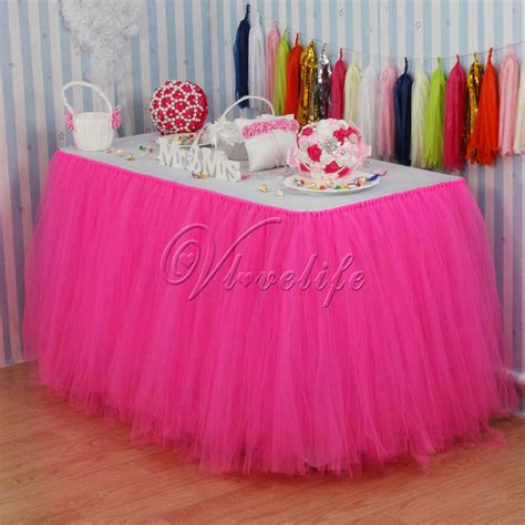 compare prices on pink table skirt shopping buy